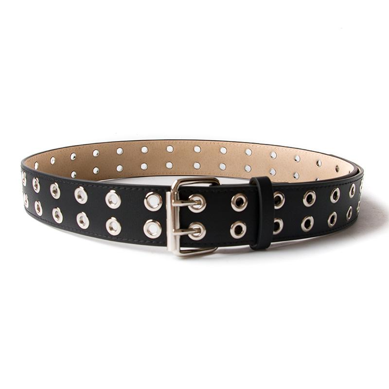 Vintage Rivet Luxury Designer Punk Belts Men High Quality Male Rock Motorcycle Pu Leather Women Waist Strap For Jeans Products Are Sold Without Limitations Men's Belts