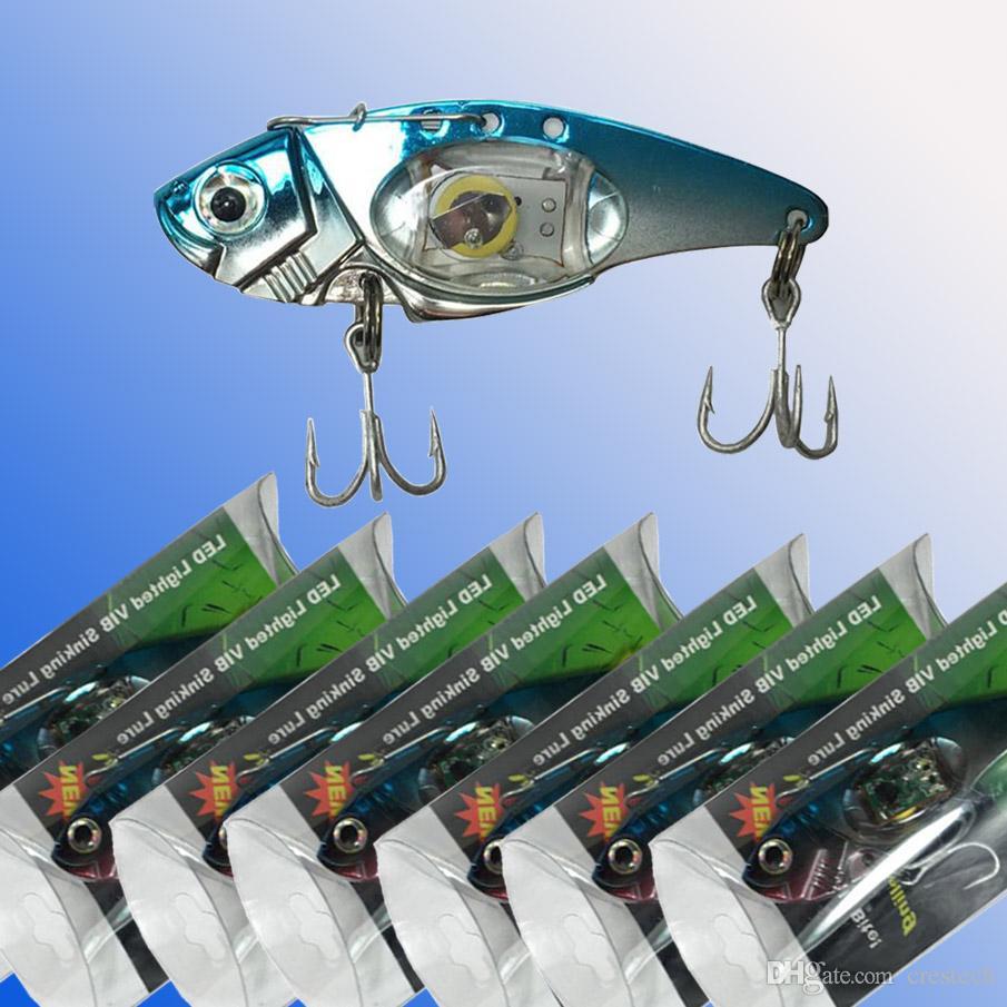 LED anzuelos de pesca LED gota profunda forma de ojo submarino pesca calamar señuelo señuelo luz intermitente lámpara