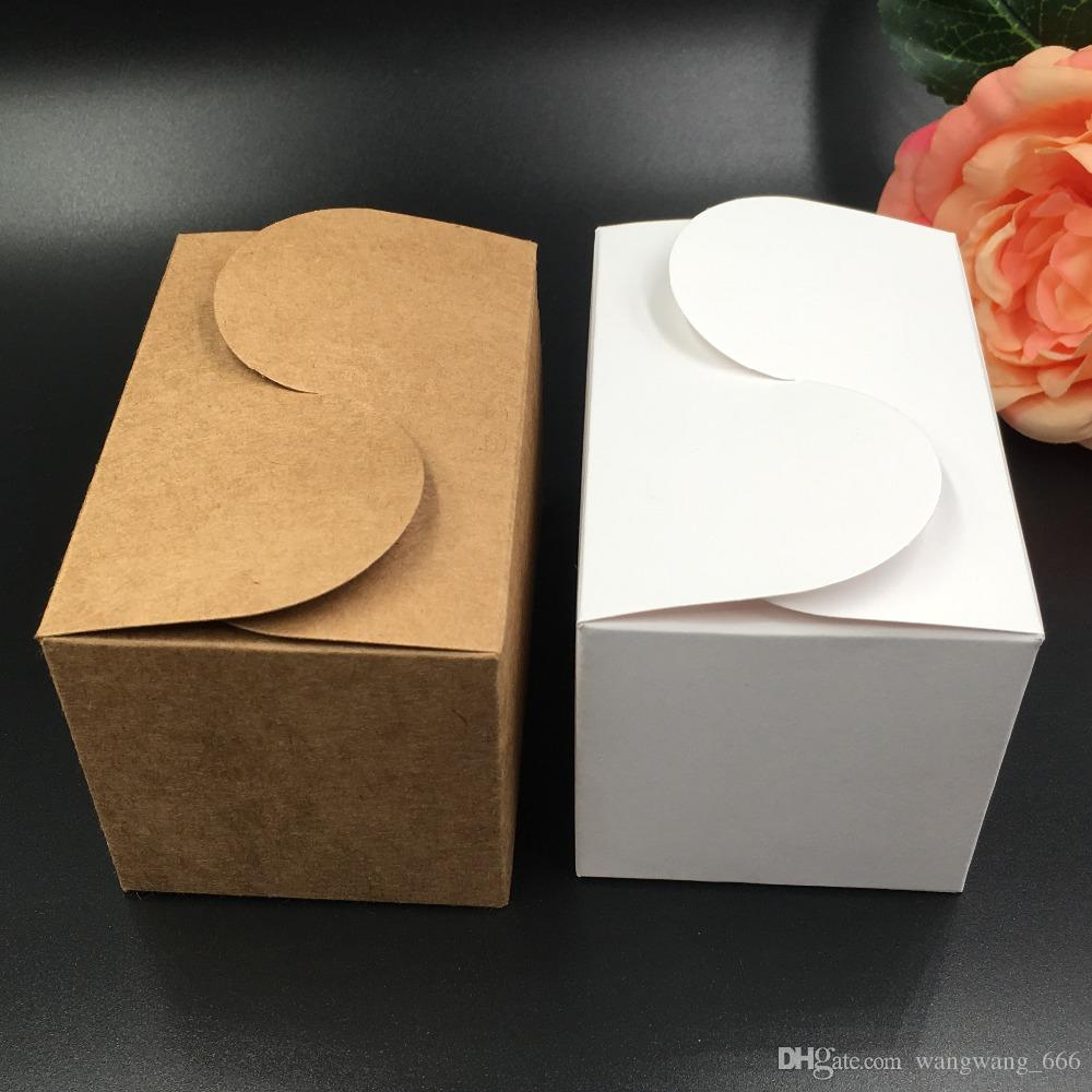 Kraft Paper Party/Wedding Gift Bags,Cake/Chocolates/Candy Packing Bags Stand Up Food Clear PVC window Seal boxes free shippiing