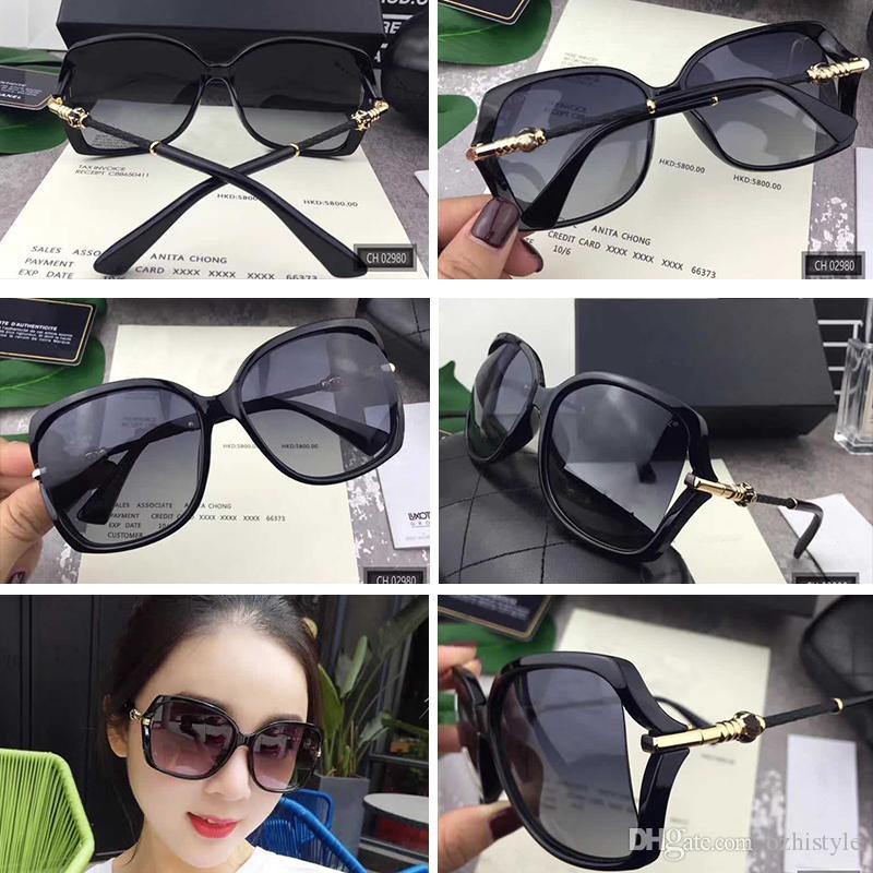 dc3343fffc New Designer Sunglass French Designer Irresistor Fashion Model 02980 Frame  Mirror Lens Cool Shiny Style Polarized Lens Round Sunglasses Cheap  Eyeglasses ...