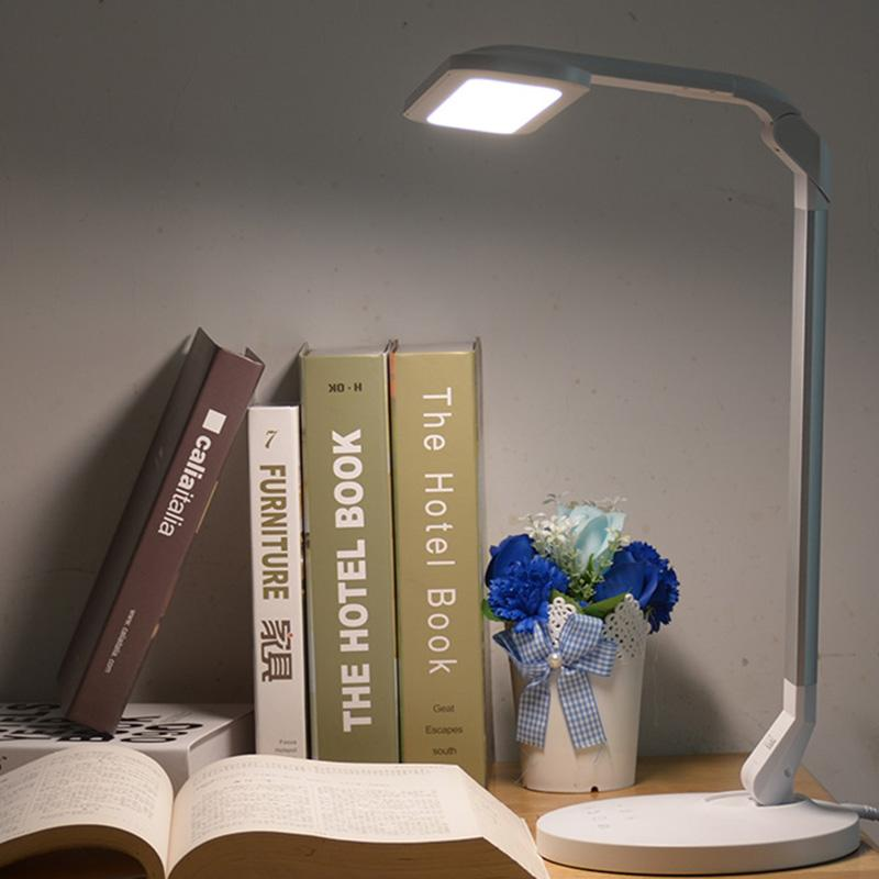 Flexible Tisch 14 Leds Lesen Licht Usb Lade Lampen Touch Sensor Dimmbare Lesen Studie Weiß Nachtlicht Schreibtisch Lampe 3 Modus Licht & Beleuchtung