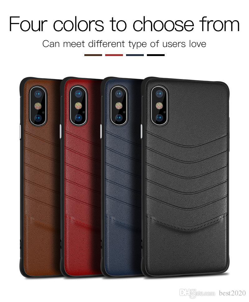 hot luxury leather case for iphone x 10 7 8 6s plus cell phone casehot luxury leather case for iphone x 10 7 8 6s plus cell phone case business style for samsung galaxy s8 s9 plus note 8 slim fashion cover cell phone