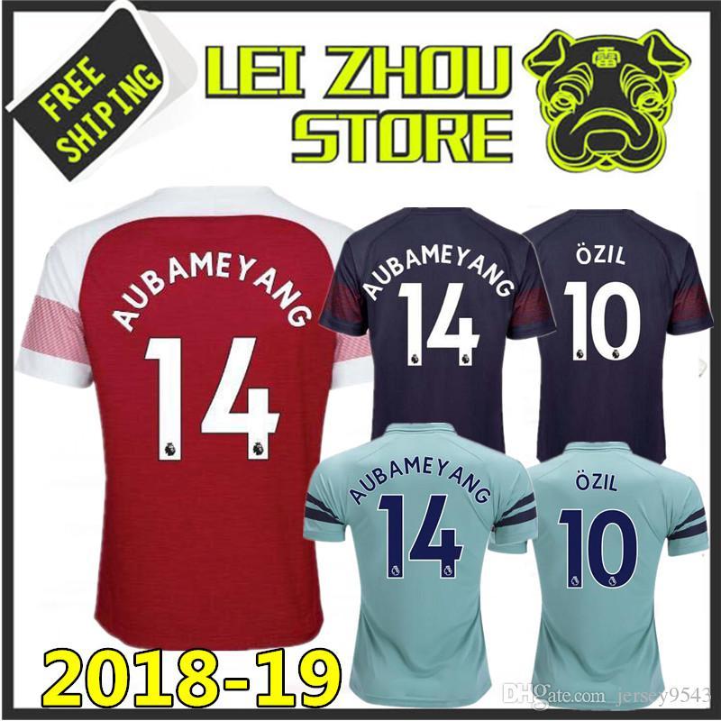 7c1327151 2018 New Gunners OZIL Soccer Jersey 2019 ALEXIS WILSHERE GIROUD LACAZETTE  CHAMBERS XHAKA Home Away Jersey 18 19 3rd Football Shirt RONALDO Messi  NEYMAR JR ...
