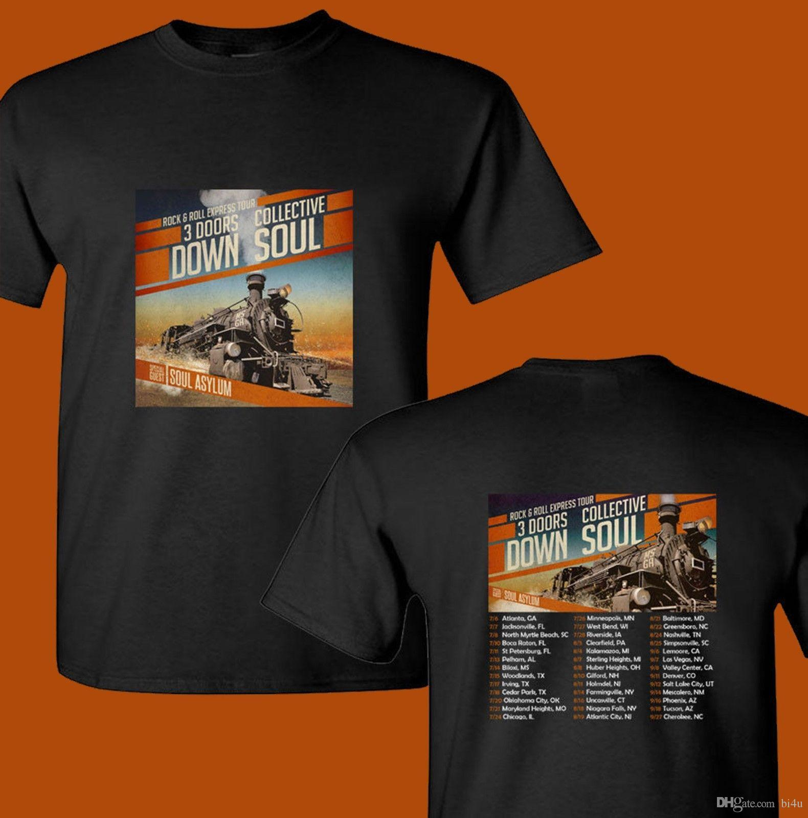 3 Doors Down Collective Soul North American Tour Dates 2018 New T