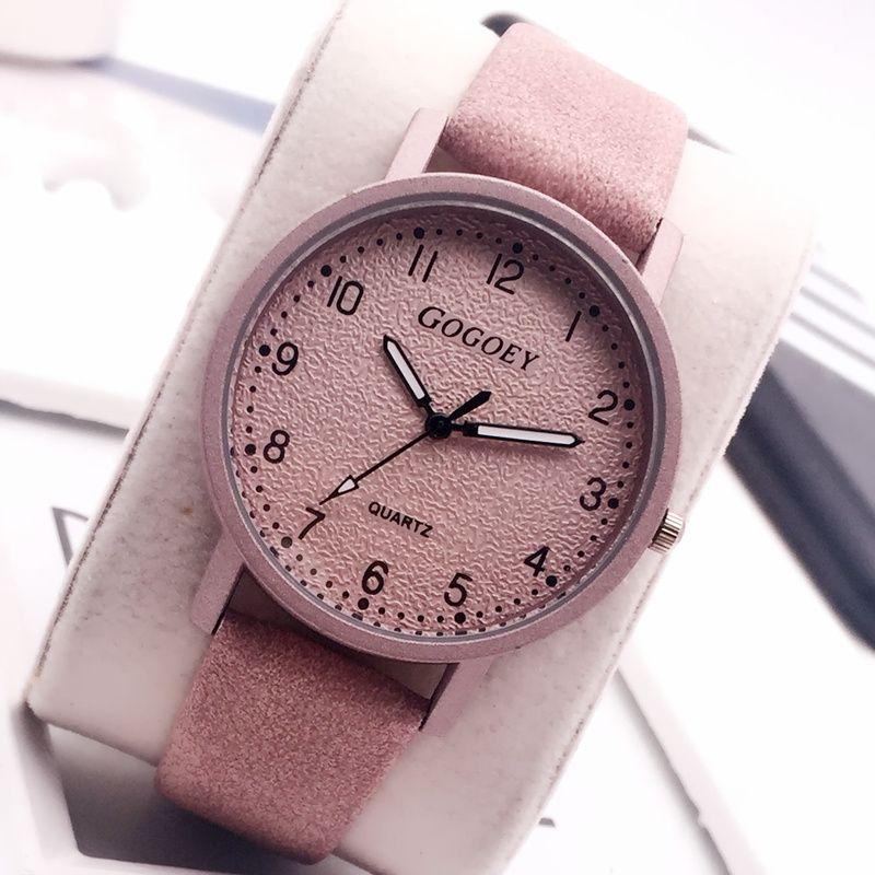 b9513a4dcdfce Satın Al 2018 Yeni Gogoey Kadın Saatler Moda Deri Bilek Kadınlar Bayanlar  Kadın İzle Retro Saat Saat Bayan Kol Saati Montre Femme, $35.23 |  DHgate.Com'da