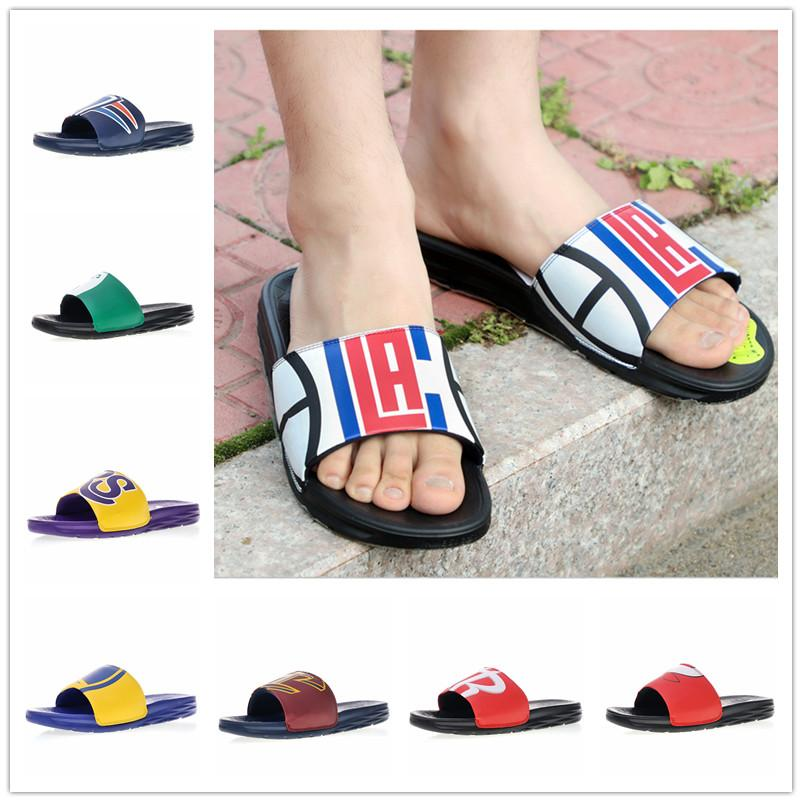 47375b8cc44a1 2018 Benassi SolarSoft Slide 2.0 2 Sports Beach Slippers For High Quality  Men Women Fashion Luxury Los Angeles Chicago Sandals Size 37.5 46 Desert  Boots ...
