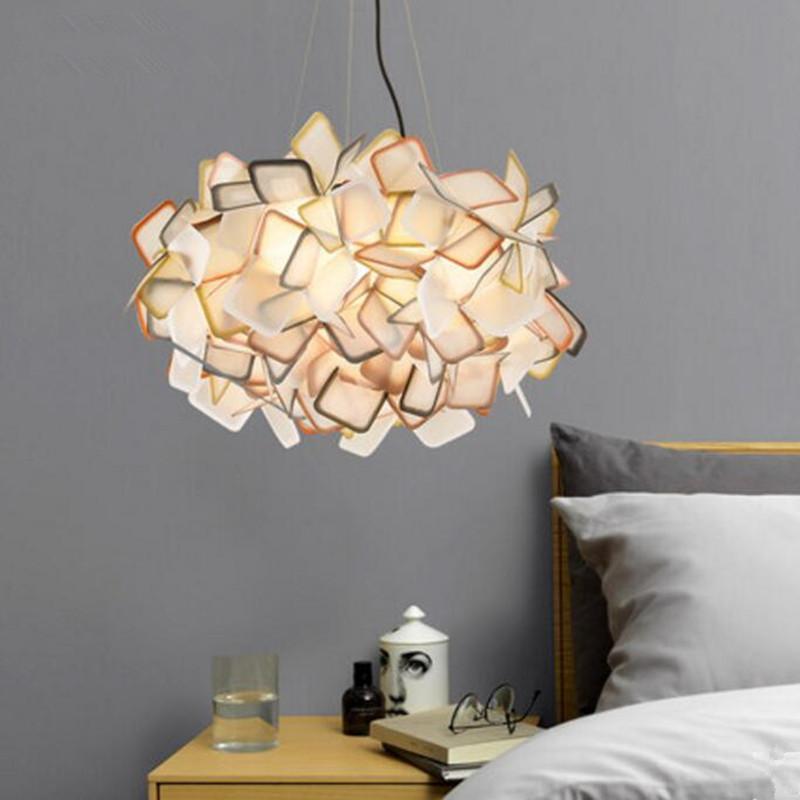 Grosshandel Moderne Pendelleuchten Pvcled Lampen Innenleuchten Farben