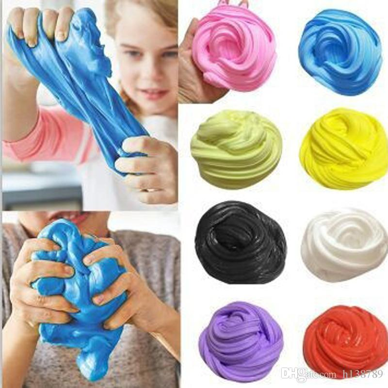 Modeling Clay Toys 30g Hand Gum Playdough Fluffy Slime Floam Lizun Light Clay Modeling Polymer Clay Sand Fidget Plasticine Rubber Mud PieToy