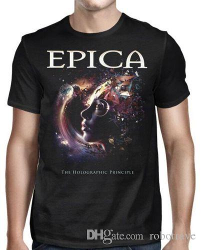 The Holographic Principle T-shirt Kleidung & Accessoires Herrenmode Epica