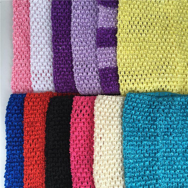 Großhandel 1 Stück 20x23 Cm Crochet Tops Diy Tüll Spule Gestrickte