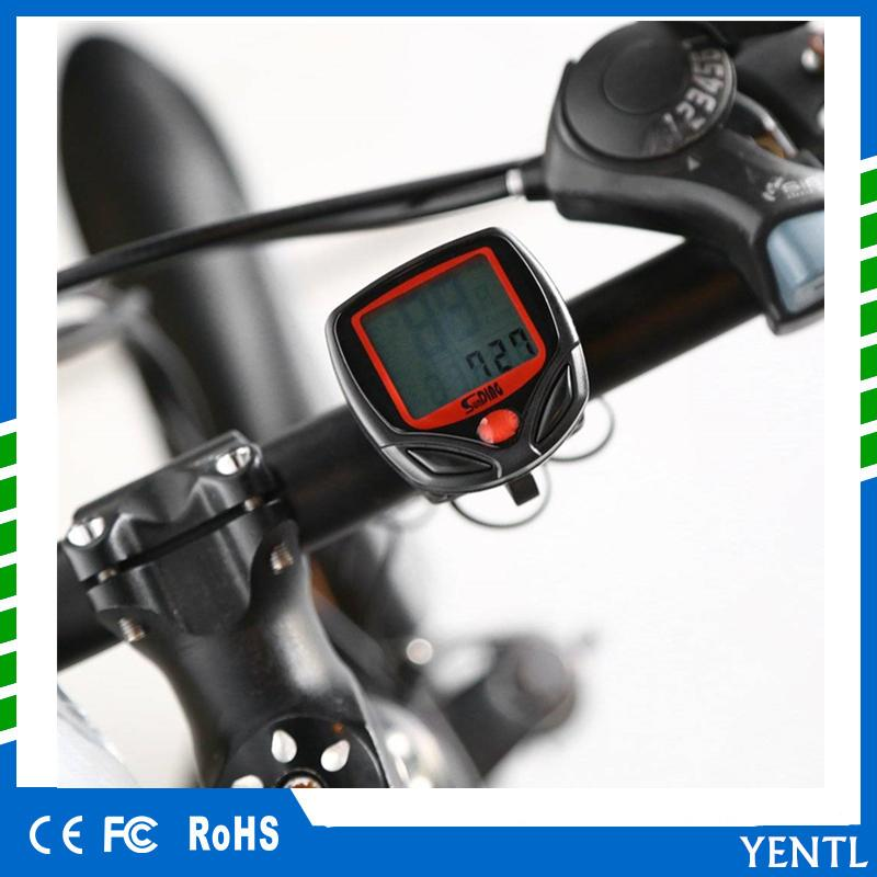 Free shipping 2018 Waterproof Digital LCD Bicycle Speedometer Odometer Bike  Computer Cycling New Computer Cycle Bicycle Bike