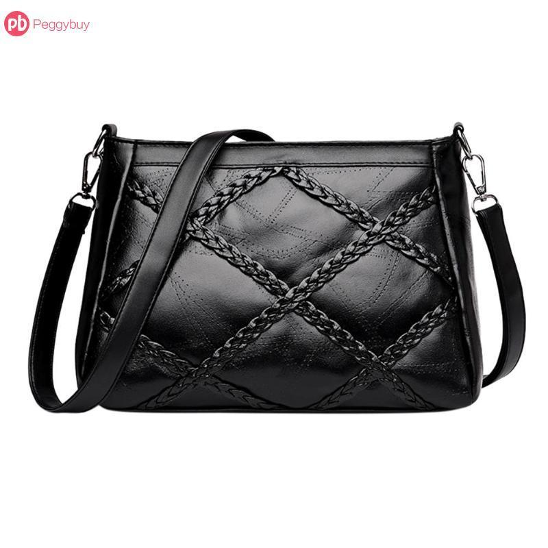 6fc167bf3678 Casual Women s Shoulder Crossbody Bag Women Messenger Bag Female Handbag  Black Bolsa Feminina Girl Bags Hobos Cheap Hobos Casual Women s Shoulder  Crossbody ...