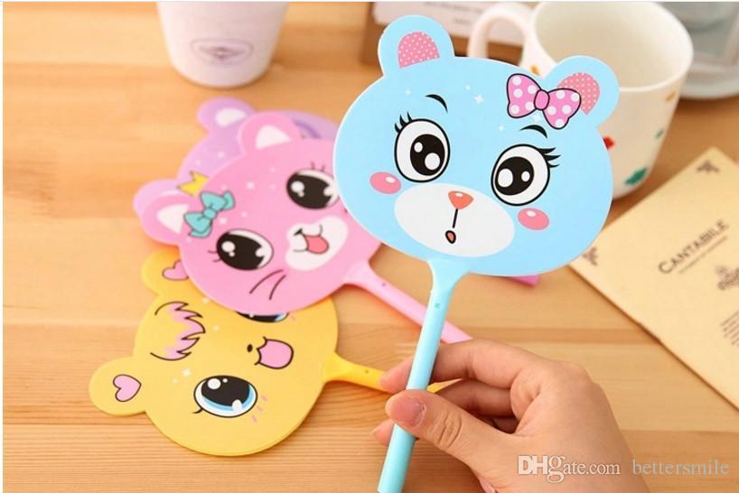 Best-Selling wholesale frees shippong ballpoint pe\lotPupil prizes creative ballpoint pen cute cartoon plastic fan pen0.5mm blue 003BP