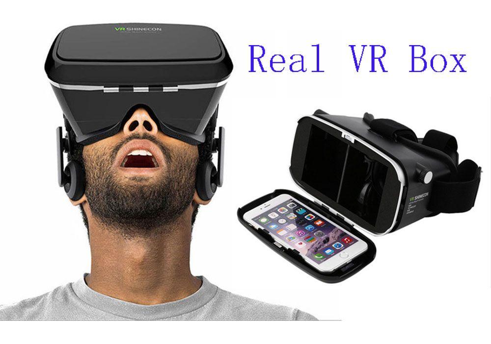 f29908bee123 Cardboard VR Box for 4.7-6 Inch Smartphone Mobile Phone VR Shinecon ...