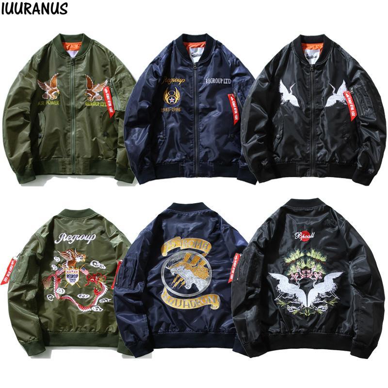 d465492d258bf Compre Chaquetas De Bordado Ma 1 Navy Seal Souvenir Bomber Jacket Japan  Military Air Force ArmyGreen Pink MA 1 Souvenir Chaquetas A  30.15 Del  Hiphopshop ...