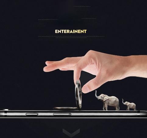 Hohe Qualität Spin 360 Grad Fingerring Mobile Metall Handyhalter Für Magnetische Halter Smartphone Stand foruniversal mit paket