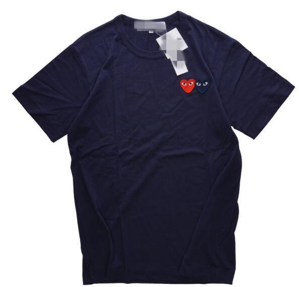 2019 große runde ripndip spuer Kragen, Sterne mit der Gezeitenmarke rot Baumwolle T-Shirt Männer und Frauen lose große Code Student Liebhaber spielen Liebe b
