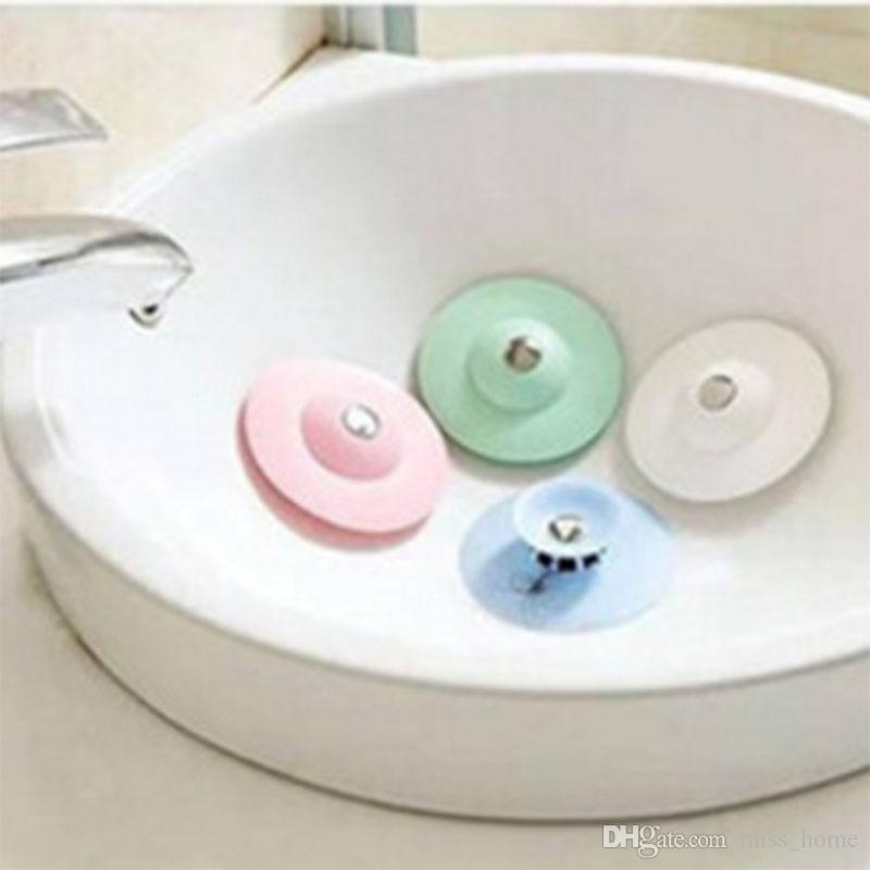 Silicone Hair Catcher b Stopper Kitchen Washroom Bathroom Accessories Shower Drain Hair Catcher Stopper Sink Clog Salle de Bain Sink straine