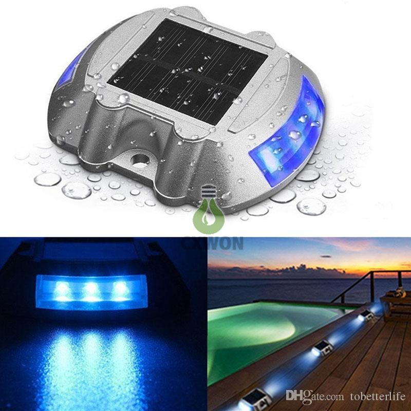Luxury 2018 Solar Deck Lights Led Dock Light Solar Lights Step Road Path Light Waterproof Security Warning Driveway Lights For Outdoor Fence Patio Yard From Unique - Minimalist pathlight Elegant