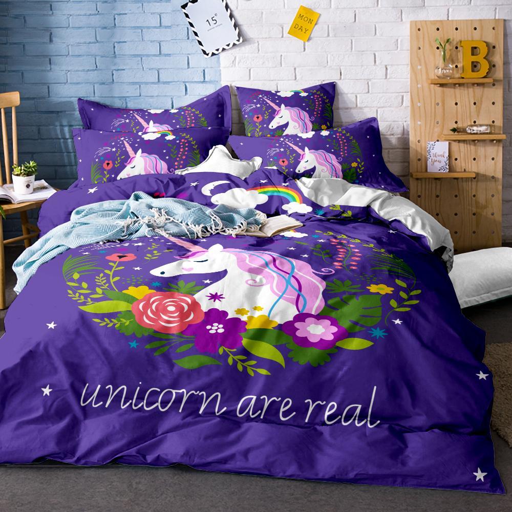 3d Bedding Sets Queenking Size Bed Linen Bed Sheet Christmas Duvet