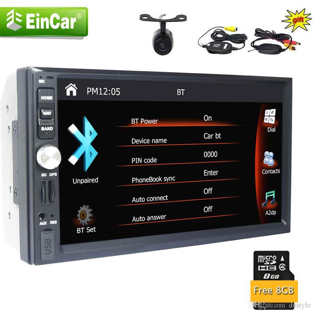 eincar radio double din car radio 7\u0027\u0027 autoradio head unit 2 din uniteincar radio double din car radio 7\u0027\u0027 autoradio head unit 2 din unit in dash radio auto gps navigation mirror link usb sd camera
