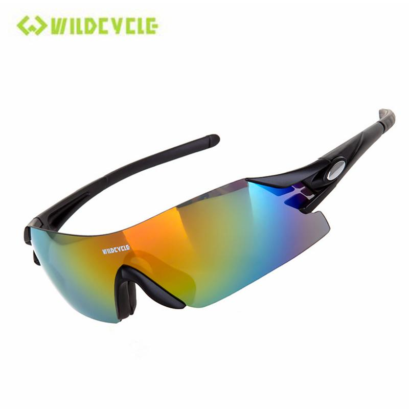 1bdd35be66 WILDCYCLE Cycling Sunglasses Outdoor Sports Bicycle Glasses UV400 ...