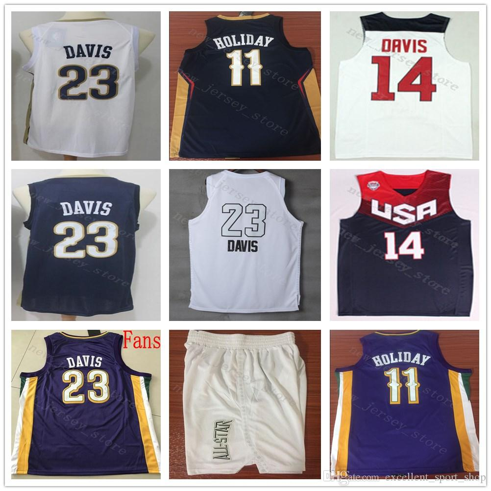 38caffd25 ... greece online cheap ncaa college purple the city edition 23 anthony  davis jersey stitched red white