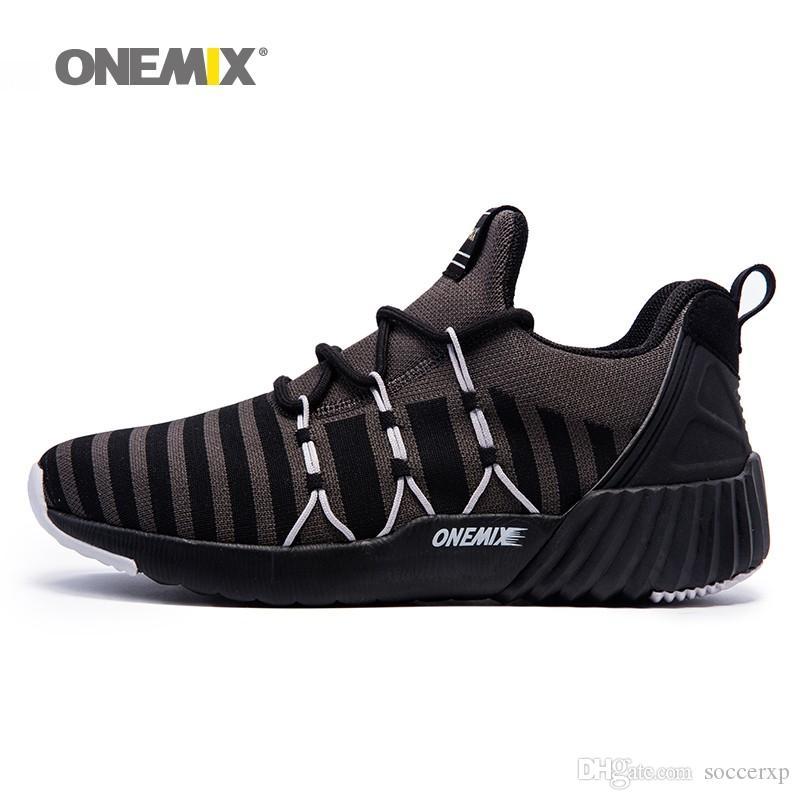 Großhandel Onemix Junge Männer Laufschuhe Atmungsaktiv Junge Onemix Weben Sport ... 23b1e4