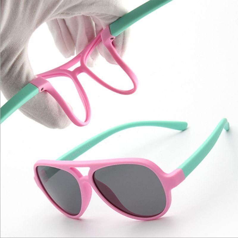 1eb718936c 2019 Girls Sunglasses Kids Sun Glasses Children Glasses Polarized Lenses  Girls Boys TR90 Silicone UV400 Child Mirror Baby Eyewear From Fahionsports