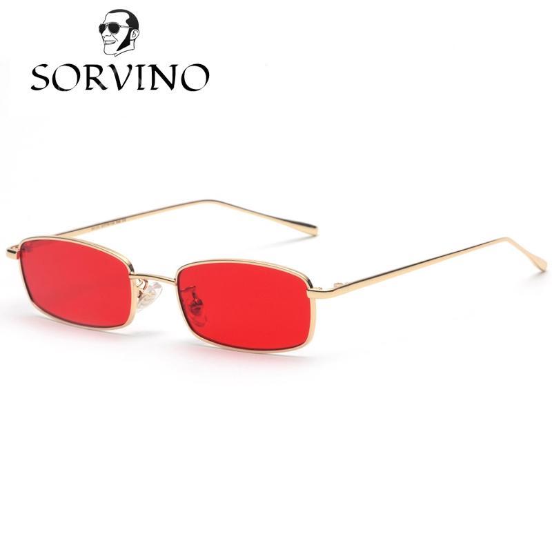 Rectangulares 2018 Sol De Sorvino Compre Pequeñas Gafas Y Estrechas bf67yIgYvm