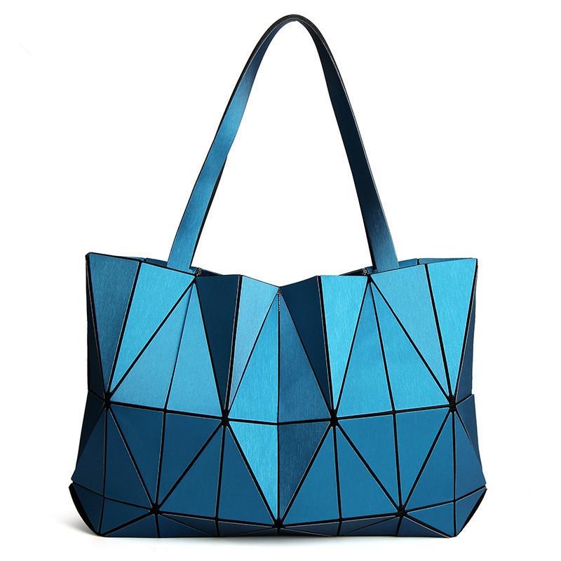 2c557868d952 2017 Brand New Women Matte Triangle Laser BaoBao Bag Female Tote Diamond  Geometry Quilted Handbag Mosaic Shoulder Bags Bao Bao Clutch Bags Beach Bags  From ...