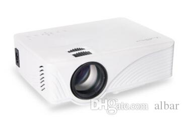 Wholesale-GP9 2000 Lumens LED Projetor Full HD 1080P Portable USB Cinema Home Theater Pico LCD Video Mini Projector Beamer GP-9 Projectors