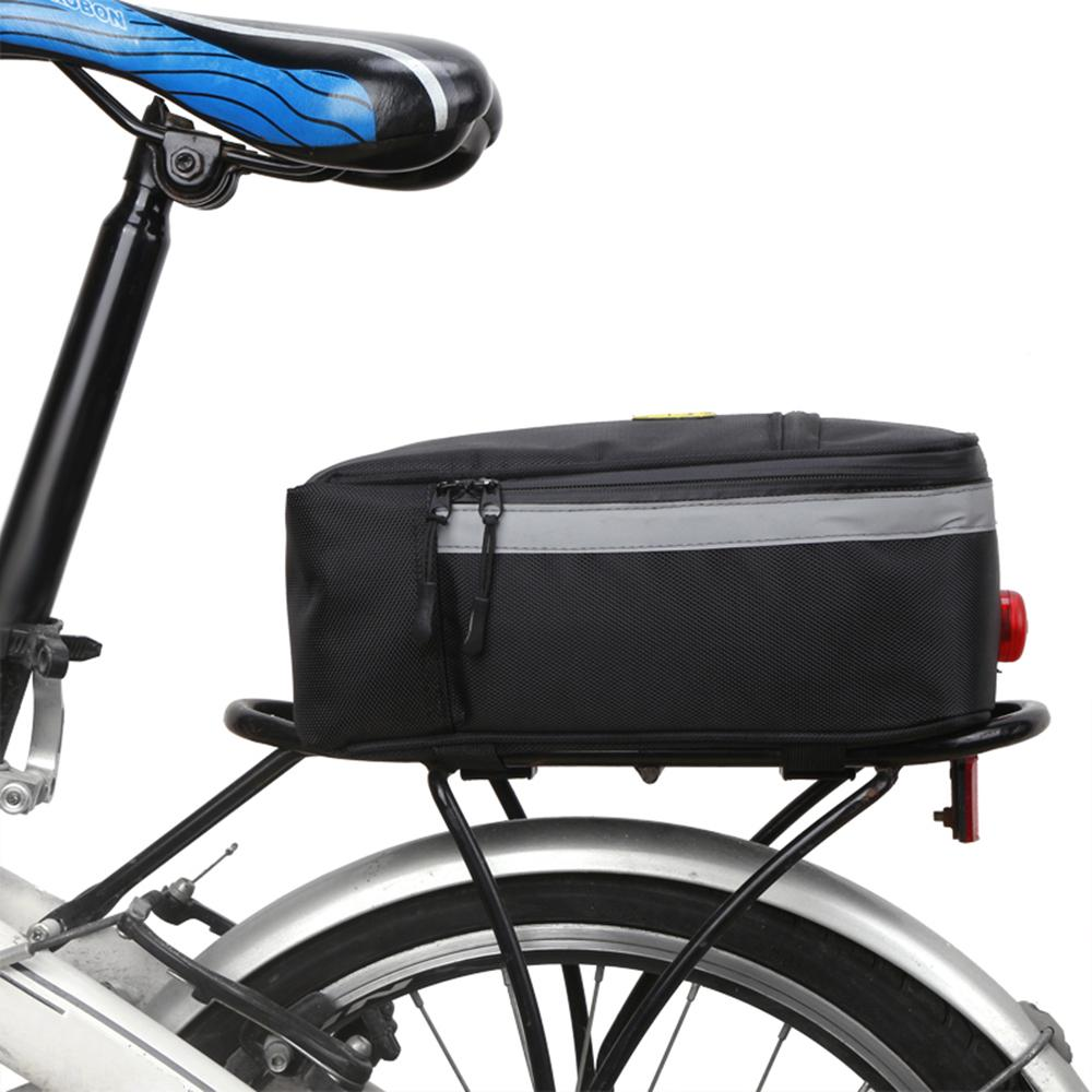 New Bike Bicycle Accessories Bag Rack Seat Cargo Bag Rear Pack Trunk Pannier Handbag Bike Parts Bag Trunk For A Bicycle Cycling Durable Service Bicycle Accessories
