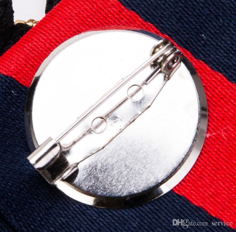Handmade Bowknot di lusso Perni spilla Nastro Perle acriliche Farfallino Spilla Corpetto Dress Shirts Accessori moda gioielli
