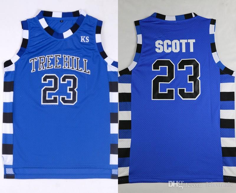 2019 One Tree Hill Jersey Lucas Scott  3 Nathan Scott  23 One Tree Hill  Ravens Basketball Jerseys Costume Double Stiched IN STOCK From Felixtrade ca21035c2