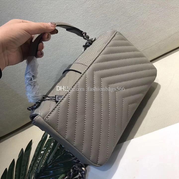 Borsa di cuoio di disegno di marca di modo di trasporto libero 25CM le borse a tracolla del sacchetto delle donne la vendita calda della femmina