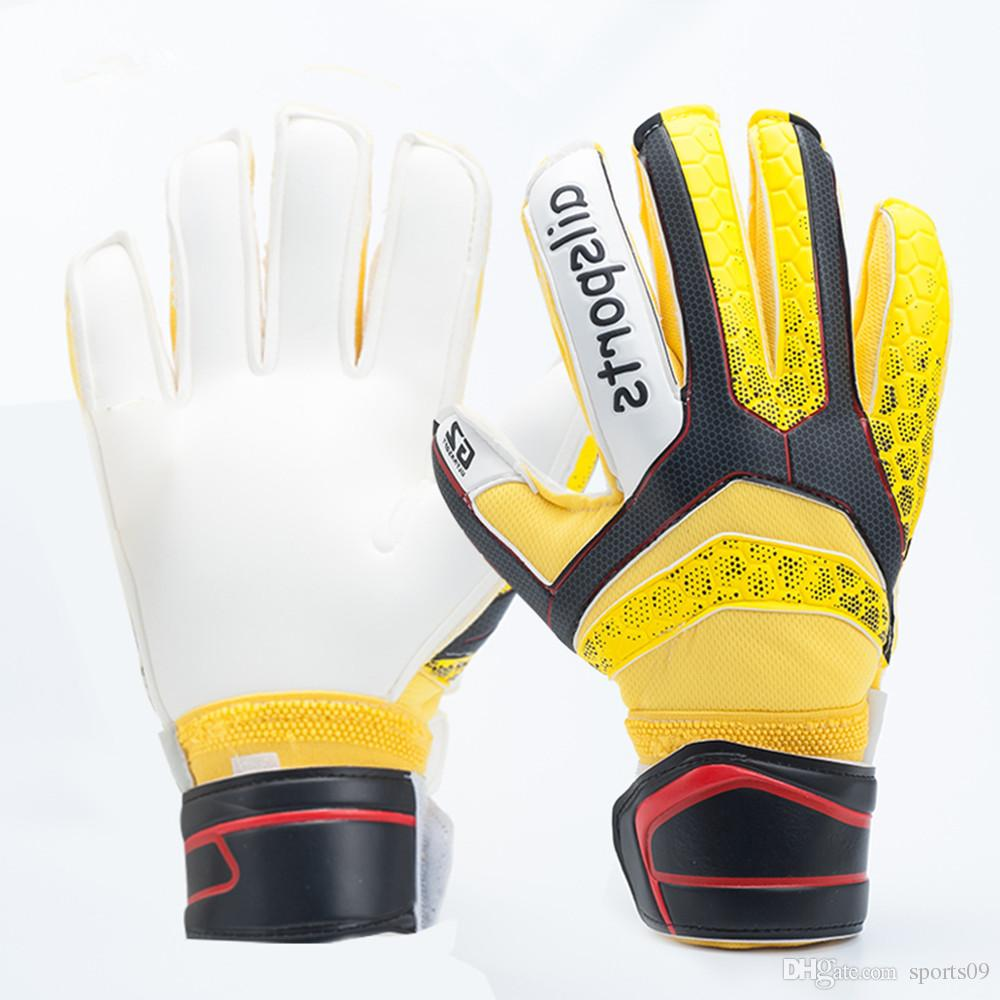 245061b71 2019 Brand Professional Goalkeeper Gloves For Men Kids Goal Keeper Gloves  Multi Colors Finger Protection Thickened Latex Soccer Gloves Guantes From  Sports09 ...