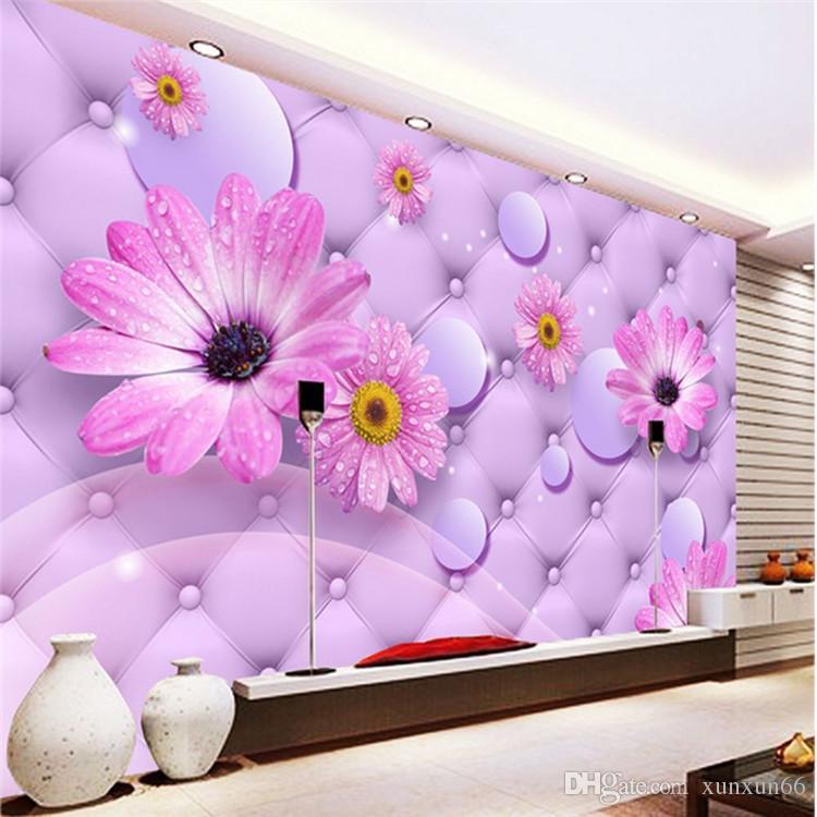 Großhandel Nicht Gesponnenes TV Tapete Tapete Wohnzimmer Schlafzimmer Soft  Case 3D Tapeten 3D Sonnenblume Große Mauer Von Xunxun66, $18.1 Auf ...