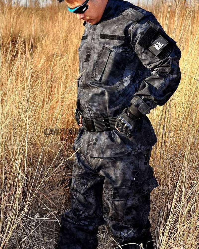 Sport & Unterhaltung Outdoor Jagd Bdu Feld Uniform Set Tactical Camouflage Jacke Hosen Männer Der Kampf Kleidung