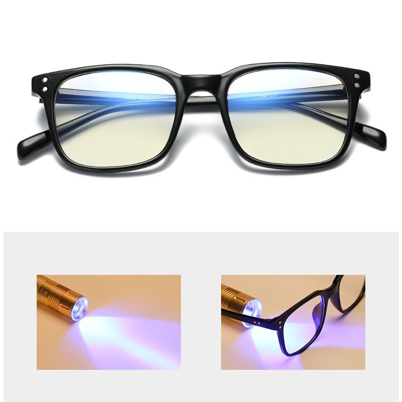 35df66439f 2019 Vazrobe Computer Glasses Men Women TR90 Eyeglasses Blocking Blue Light  Radiation Square Work Eye Goggles Tint Film Clear Lens From Marquesechriss