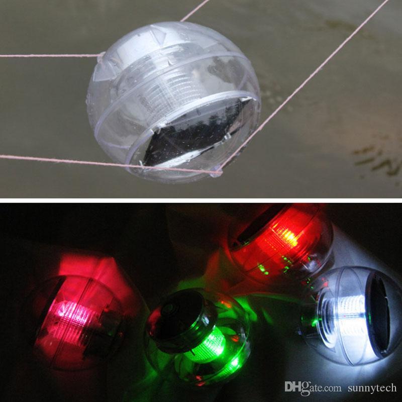 Impermeable Energía Solar Cambio de Color LED Luz de Bola Flotante 2V 60mA para Estanque de Jardín al aire libre Camino Paisaje Luces Nocturnas ZA5641