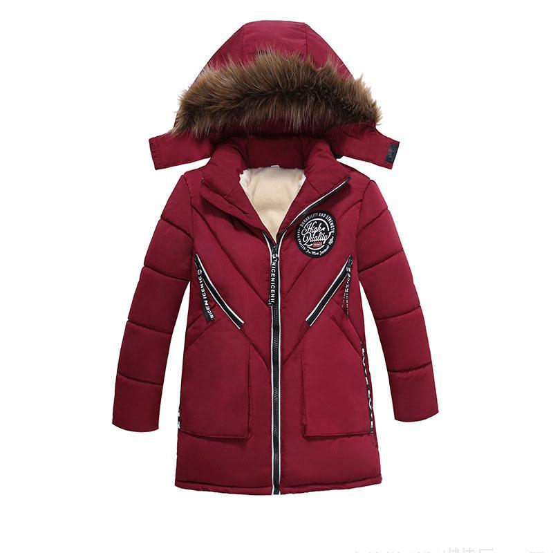 c9052a8bf964 Утолщаются бархат дети девочки мальчики зимнее пальто теплые плюшевые дети#39;s  зимние куртки хлопок Детская одежда мягкая куртка Детская одежда