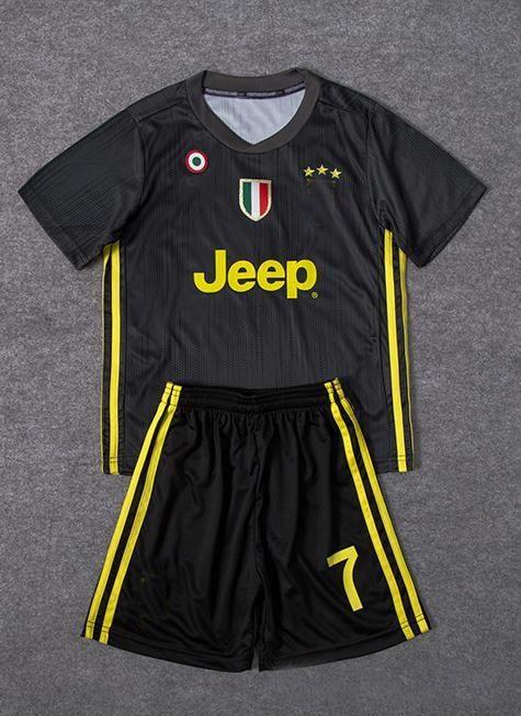3e8f7ecb1 Thailand RONALDO Juventus 2019 KIDS Jerseys DYBALA 18 19 Football ...