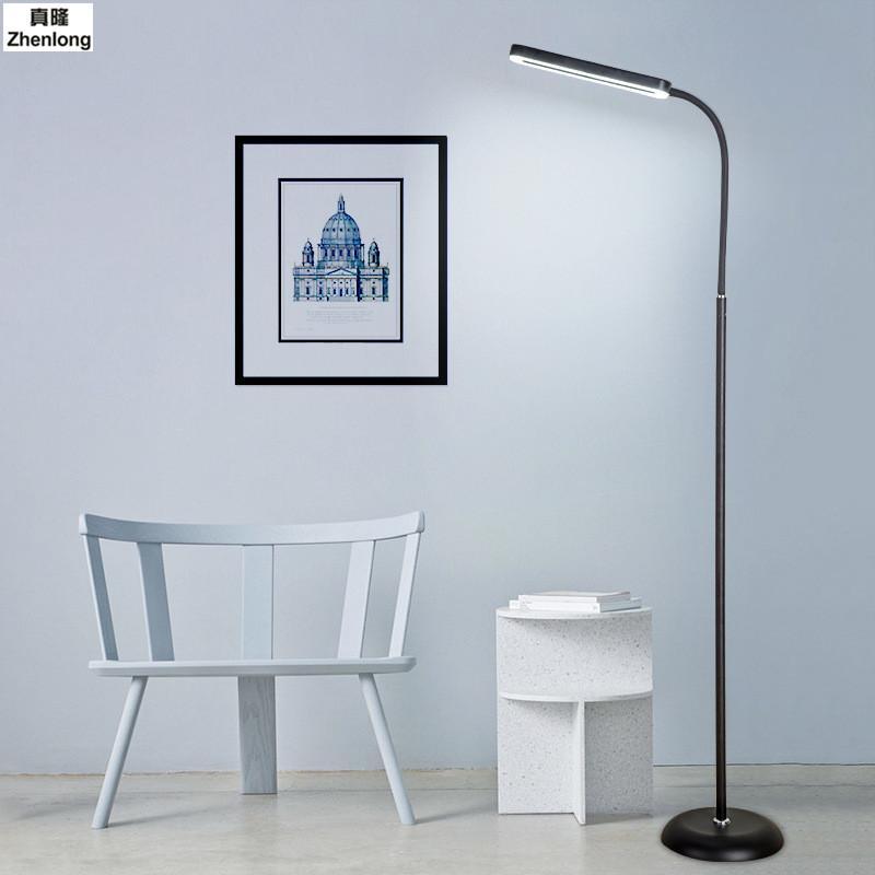 Stehlampe Lesen großhandel 8 watt moderne touch led stehlampe lesen für wohnzimmer