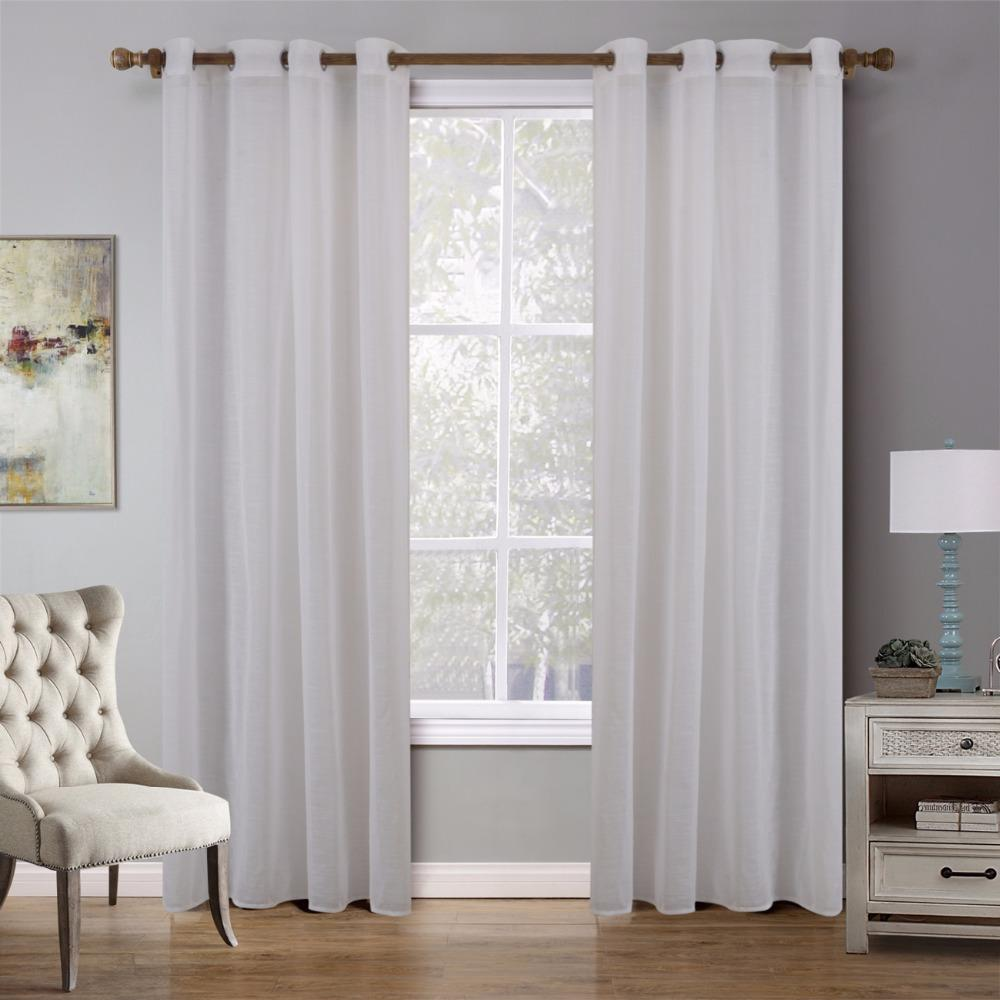 2018 BBJ Sheer Curtain For Living Room Home Decor Curtain For Bedroom  Bamboo Dolly White Apricot Blue Grey Tulle 140*240cm From Olgar, $20.54 |  DHgate.Com
