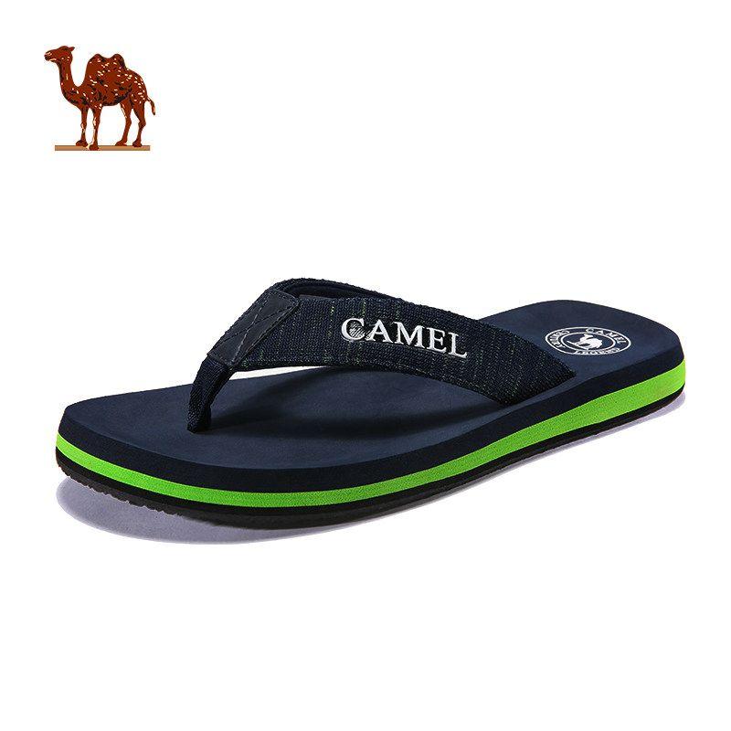 c3e21a951942 Camel Men S Sports Beach Slippers 2018 Summer Non Slip Outdoor Flip Flops  Wear Resistant