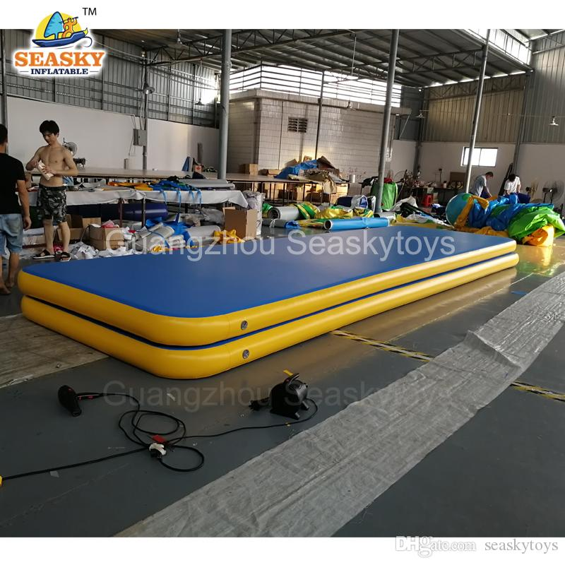2019 Funny Sport Game 4x1x01m Inflatable Gymnastics Mattress Tumble