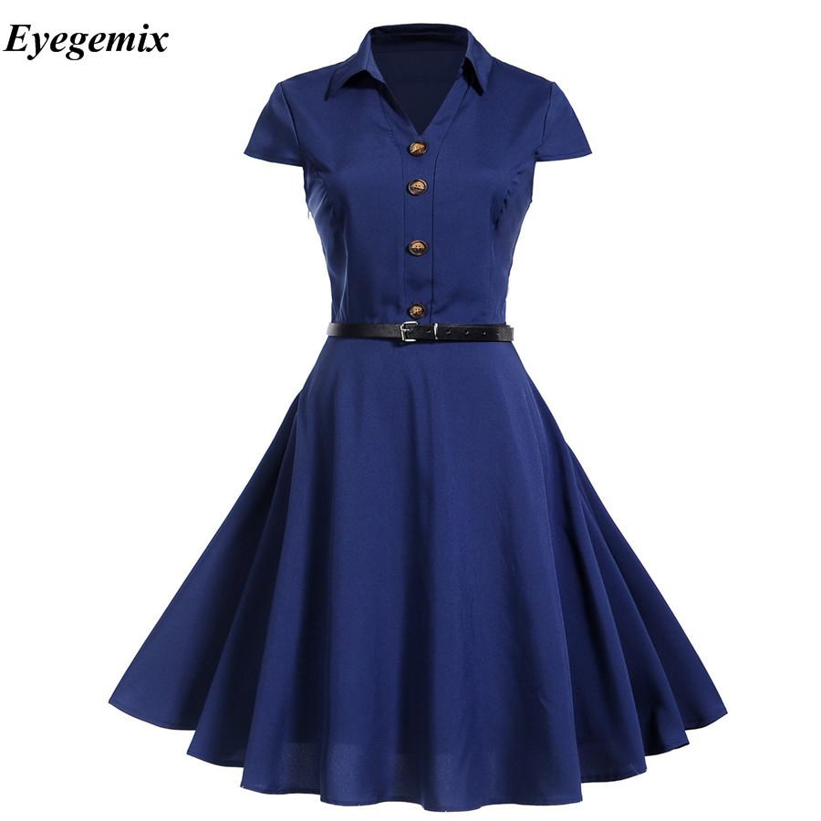 6a487ee69a9f8 Women Summer Dresses 2018 Office Clothing Robe Vintage 50s 60s Pin Up Big  Swing Party Work Wear Rockabilly Dress Vestidos Black Strapless Dress White  ...