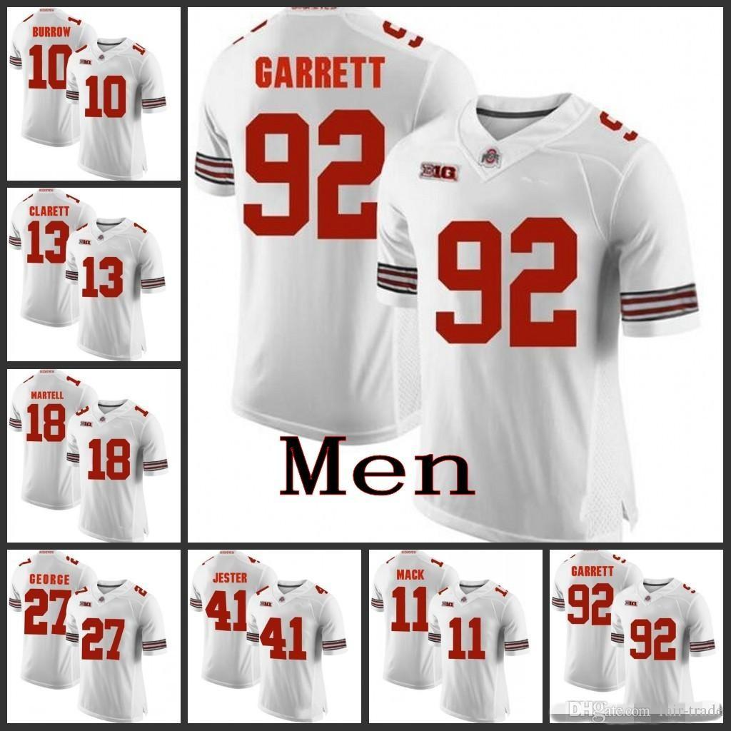 buy online 41e3b 80903 Mens Custom Ohio State Buckeyes Football Jersey Demario McCall Jeffrey  Okudah K Vaughan Pope Kendall Sheffield Brian Snead Ohio State Jersey