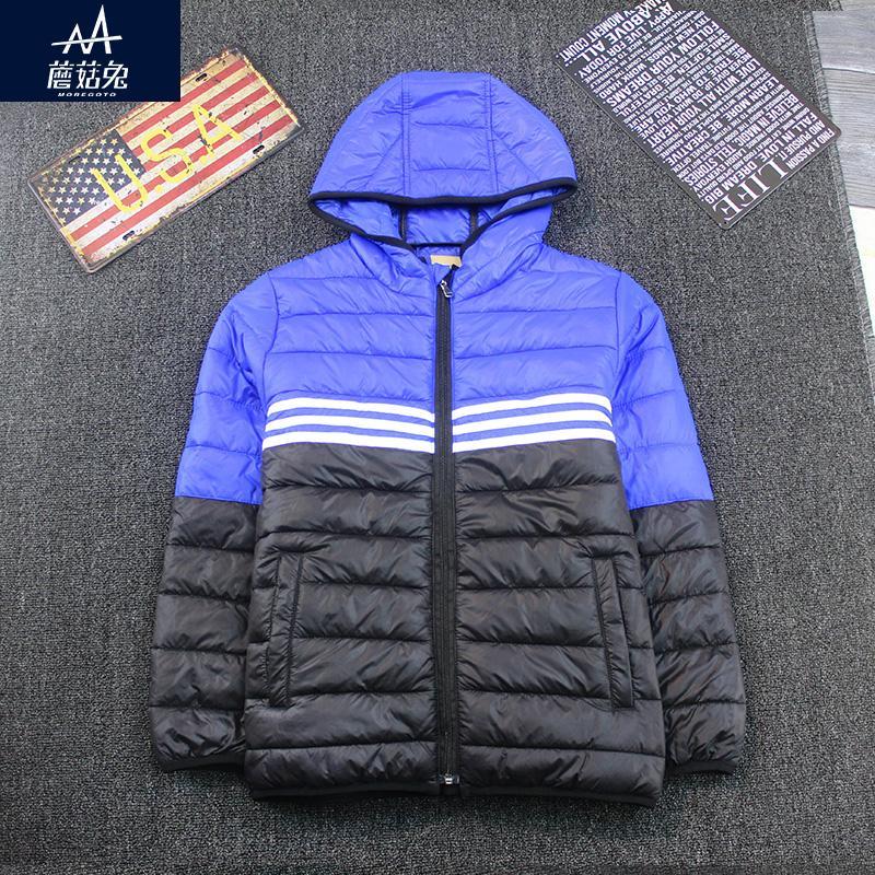 2017 новый стиль зима дети куртка с капюшоном мальчики куртка пальто свободные подросток мальчик пальто куртки и пиджаки куртка жира мальчики возраст 9-10-11-12Y